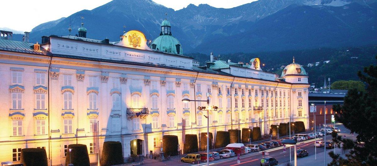 Kaiserliche Hofburg am Abend